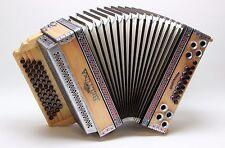 Steirische Harmonika BELTUNA Alpstar IV D Michlbauer, G-C-F-B, Tanne natur
