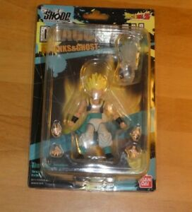 DRAGON-BALL-Z-KAI-SHODO-RARE-NEO-4-GOTENKS-amp-GHOST-ACTION-FIGURE-BANDAI-2016