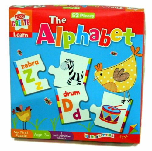 "Assorted Colour Plastic Anker Kids Create Educational /""Learn Alphabet/"" Puzzle"