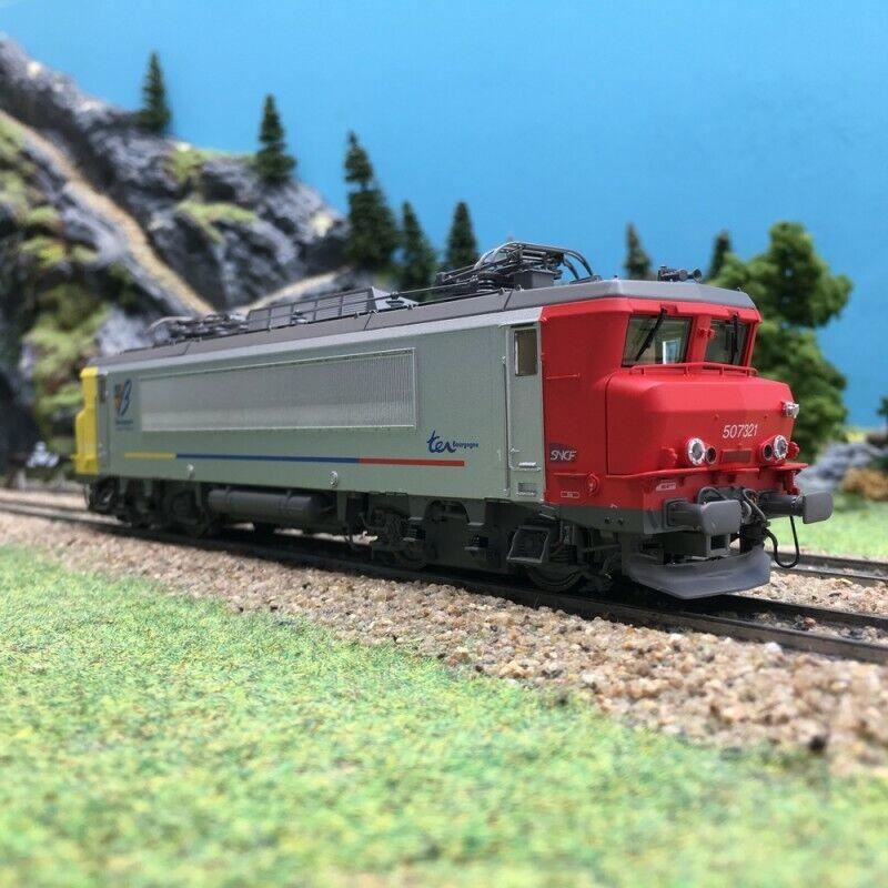 Locomotive BB7321R Dijon SNCF Ep VI 3R digit son-HO 1 87-LSMODELS 10706S
