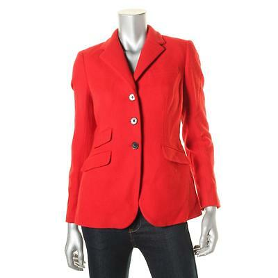 Lauren Ralph Lauren 6109 Womens Wool Notch Collar Pea Coat Jacket Petites BHFO