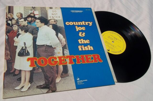 COUNTRY JOE & THE FISH, 60s ROCK PSYCHE LP, TOGETHER, VANGUARD LABEL
