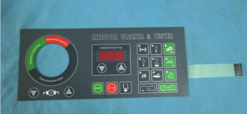 new English panel for TektinoINJ6B injector test and cleaner