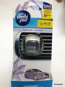 6X-BRANDED-AMBIPUR-CAR-Air-Freshener-ODOUR-SMELL-LAVENDER-COMFORT-CAR-PERFUME