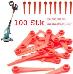 100Stk-Ersatz-Messer-fuer-Rasenmaeher-Rasentrimmer-Rasenroboter-Gardena-70mm-5-5mm