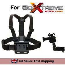 Chest Strap Harness Mount Holder for GoXtreme Black Hawk 4K Vision 4K Ultra HD