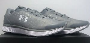 Under Armour Shoes 13 Men/'s UA Charged Bandit 4 Team Running Shoes Grey