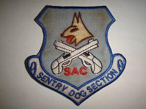 USAF-Strategic-Air-Command-Sac-Sentry-Cane-Sezione-Toppa