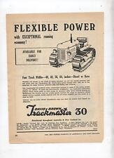 David Brown Taskmaster 30 Crawler Tractor Advertisement from 1953 Farm Magazine