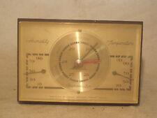 vintage Barometer Humidity Temperature instrument desk U.S.A.  retro Airguide