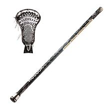 "New Reebok 10K Lax 32"" box lacrosse stick strung white Lightning shaft with head"