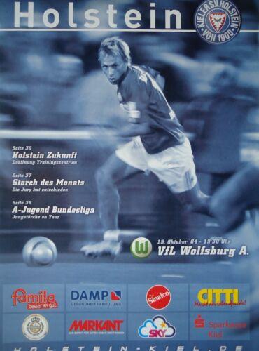 VfL Wolfsburg Am. Programm 2004//05 KSV Holstein Kiel