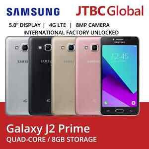 New Samsung J2 Prime 4G LTE G532G 5 Inch 8GB Factory Unlocked Android Phone
