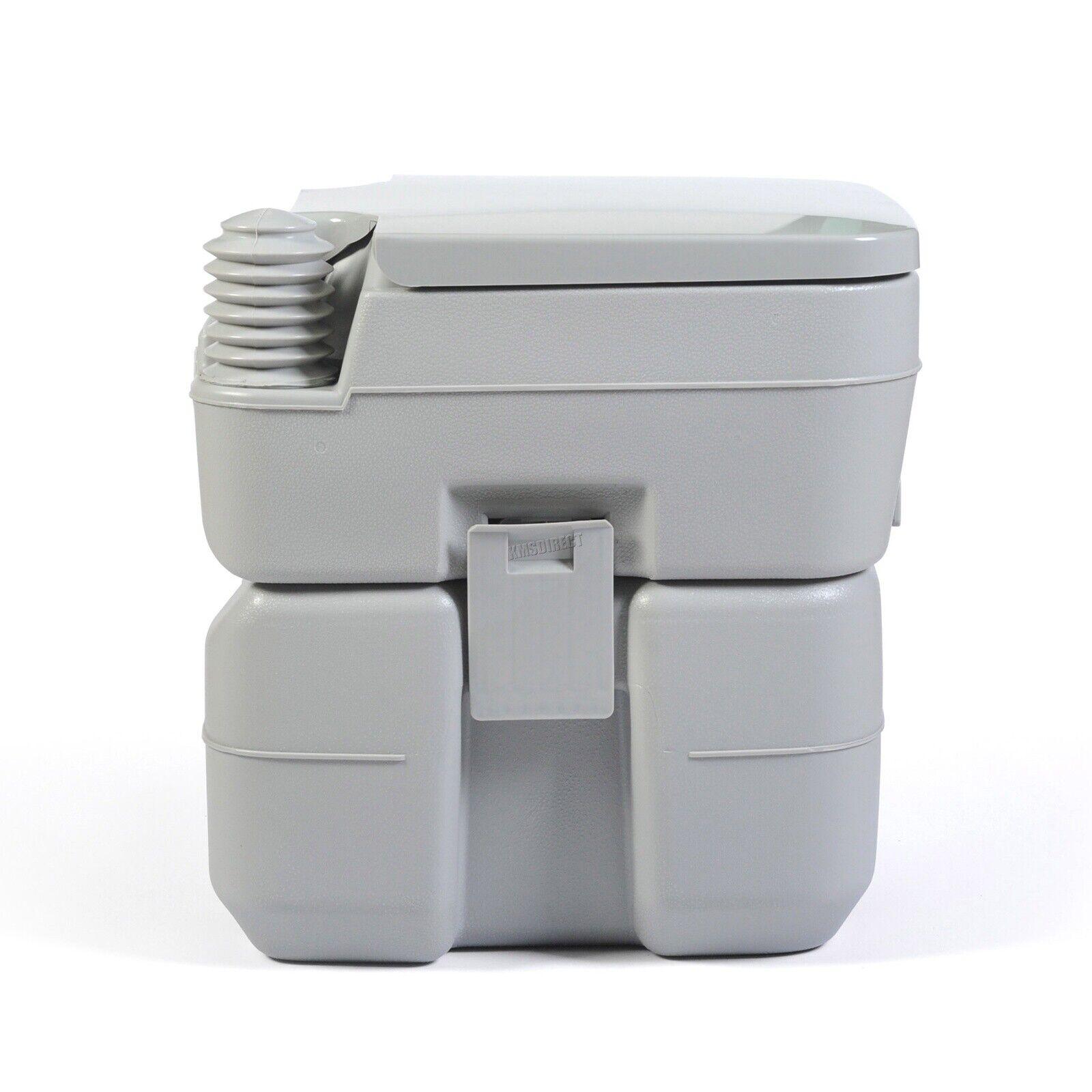 FoxHunter 20L Portable Toilet Flush Caravan Camping Travel WC Loo Porta Potty 5