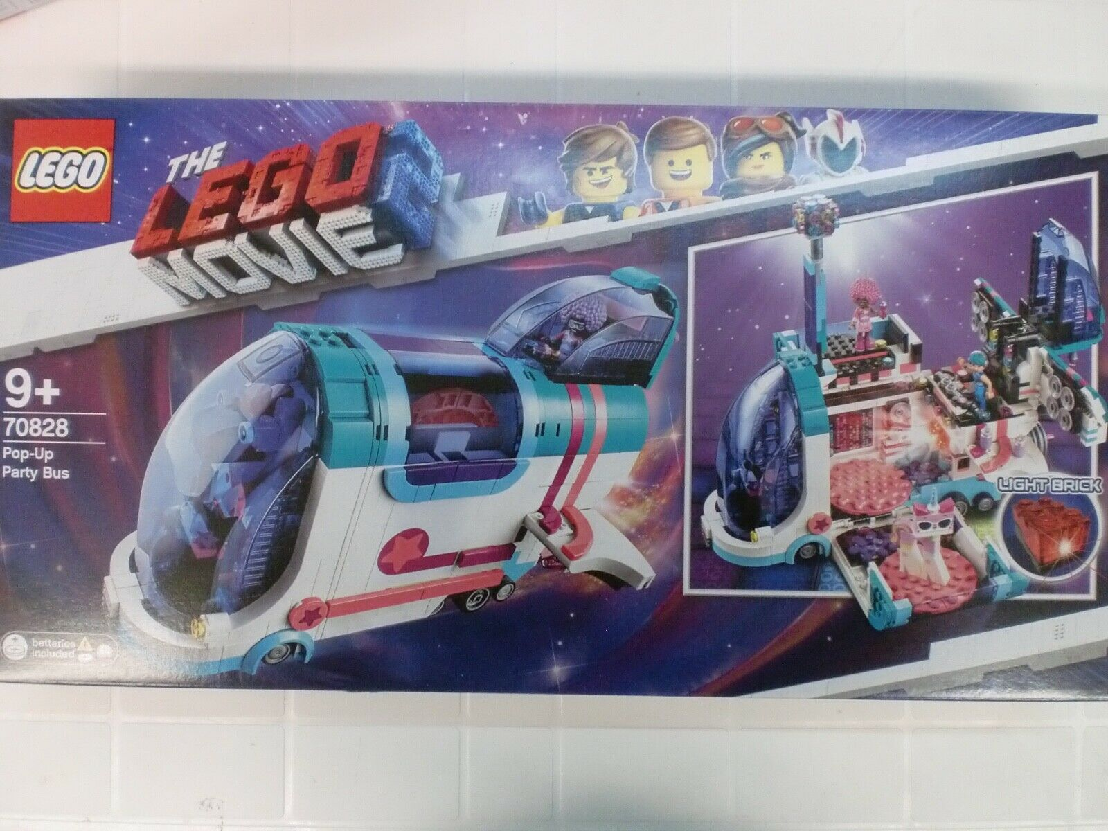 LEGO 70828 - POP-UP PARTY BUS - SERIE MOVIE 2