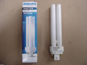 Philips MASTER PL-C 4P lampada fluorescente 10 W G24q-1 Bianco caldo A