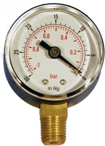 conexión de entrada inferior-indicadores de vacío-caso diámetro 50mm X B18-00129