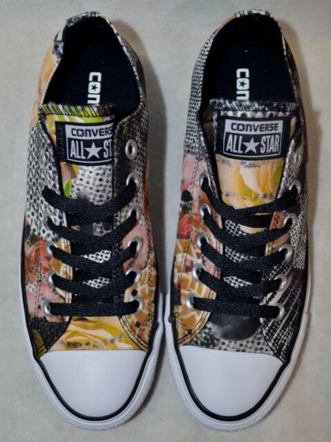 Buy Converse Women s Chuck Taylor All Star Digital Floral Ox ... d7f43a5c3