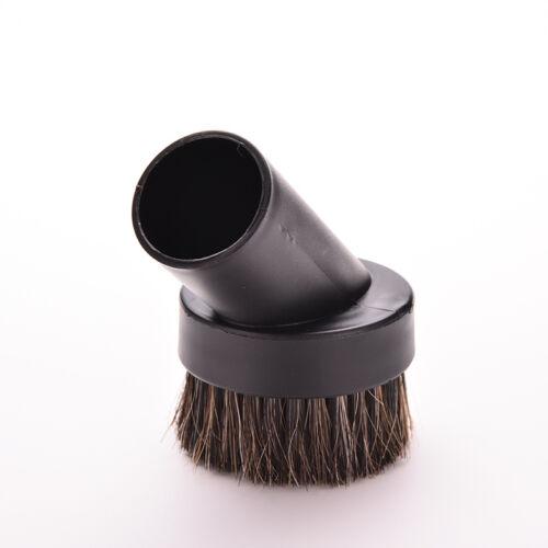 32mm Round Horse Hair Dusting Dust Brush Vacuum Cleaner Replacement Tool OJ XIha