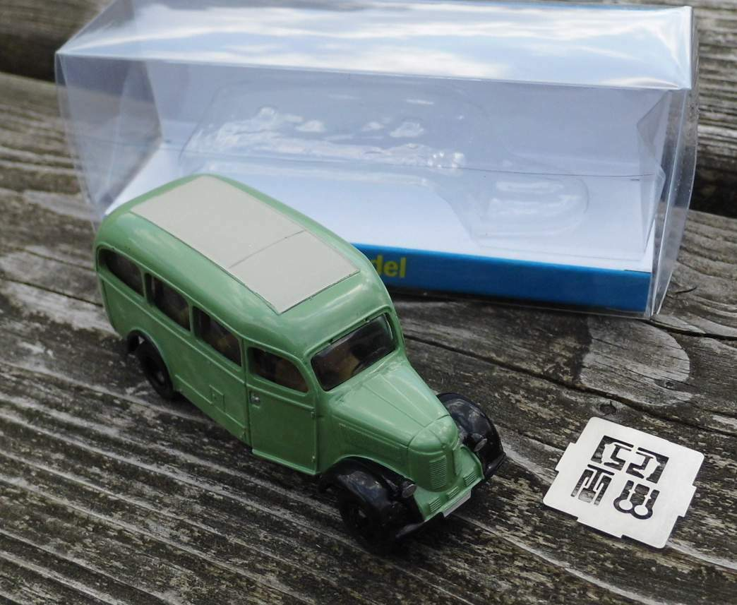 Granit 27K  Omnibus von 1949     - 1 87 VV-Model acfc33