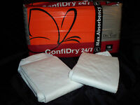 Sample Pack Of 2 Dry 24/7 Confidry Adult Diapers - Medium