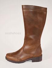 Superfit Girls Brown Leather Zip Boots UK 13 EU 32 US 13.5 00173