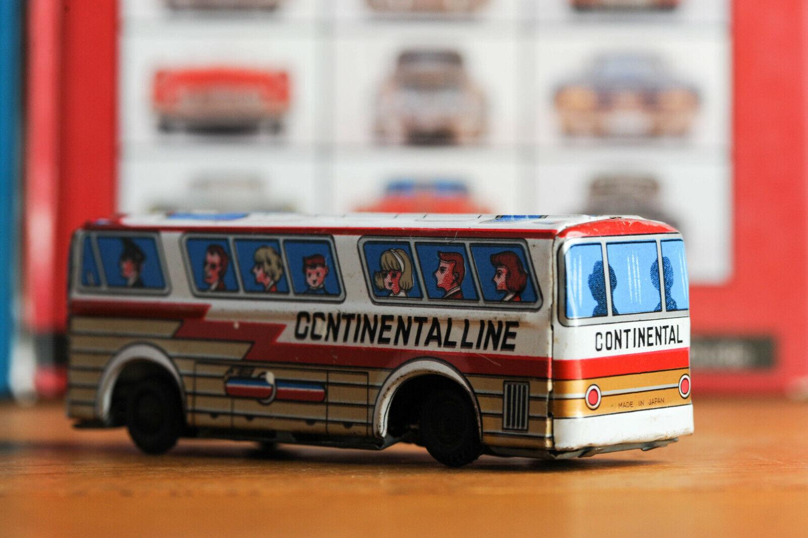 _AntiqueTin leksakjapaner Continental Line buss Touring bil Express
