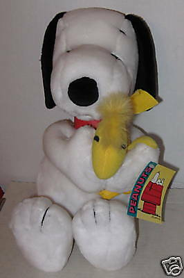 "Snoopy & Woodstock Best Friends"" 15"" Soft Cuddly Plush Last One Available!"