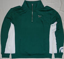 Victorias Secret PINK Michigan State University Spartans Half Zip Jacket