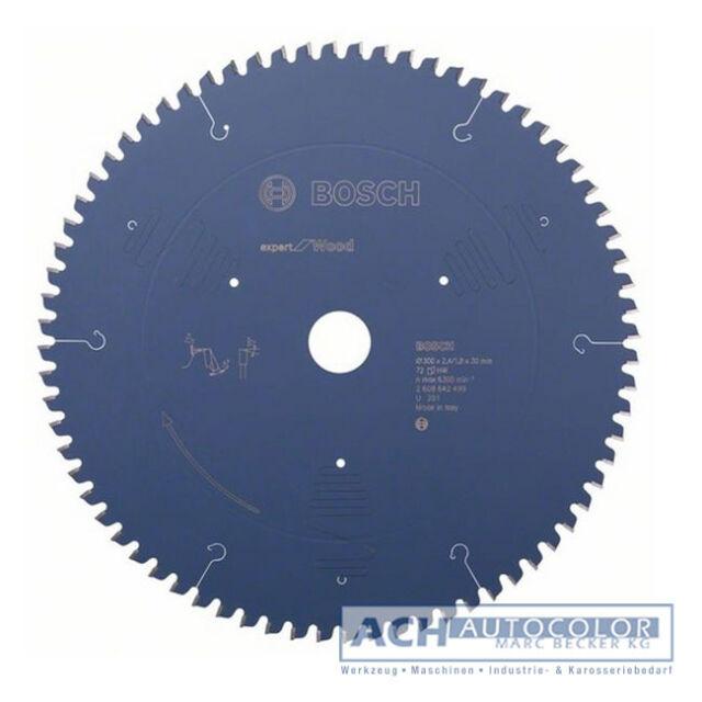 BOSCH Madera Hoja De Sierra Circular Para 300mm Z72 WZ GTM 12 JL 0601B15001