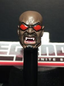 MARVEL LEGENDS CUSTOM PAINTED//FITTED COMIC SPAWN 1:12 HEAD FOR 6IN FIGURE