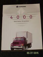 1995 International 4000 Series Trucks Sales Brochure Diesel Literature 27 Page