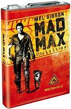 MAD MAX  COLLECTION  L'INTEGRALE    -- STEELBOOK    JERICHAN     ------  BLU RAY