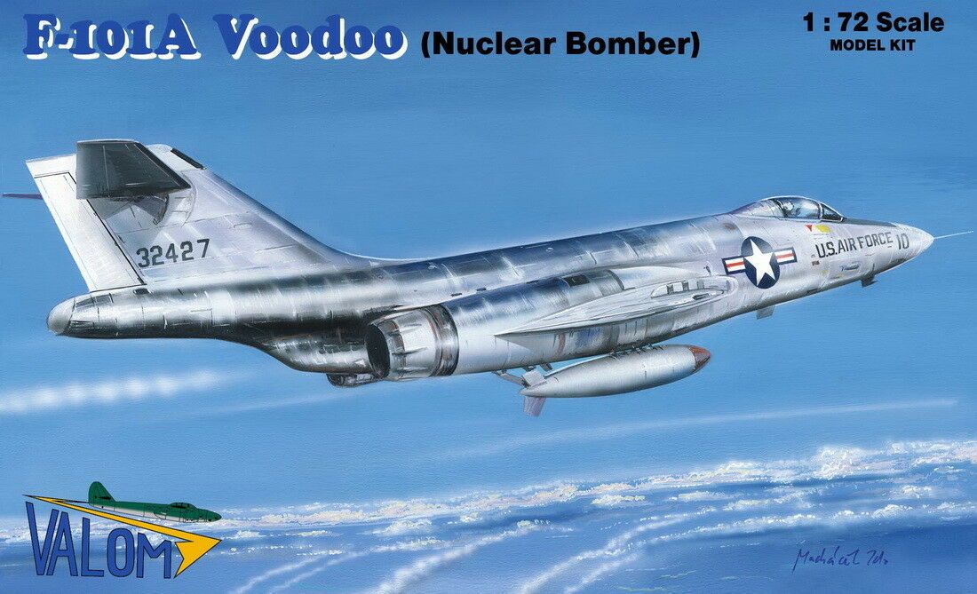 Valom 1 72 McDonnell F-101A Voodoo Nuclear Bomber