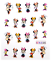 PEGATINAS-AL-AGUA-DECORACIoN-UNAS-MANICURA-NAIL-ART-WATER-DECALS-STICKERS-DISNEY