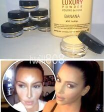 SAMPLE JAR 3g ⭐️ Ben Nye BANANA Powder Luxury Contour Highlighter Kim Kardashian