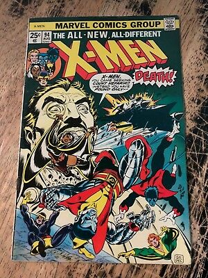 X-men # 94 Vf Marvel Comic Book 1st New Team Storm Wolverine Tw65 uncanny Dependable