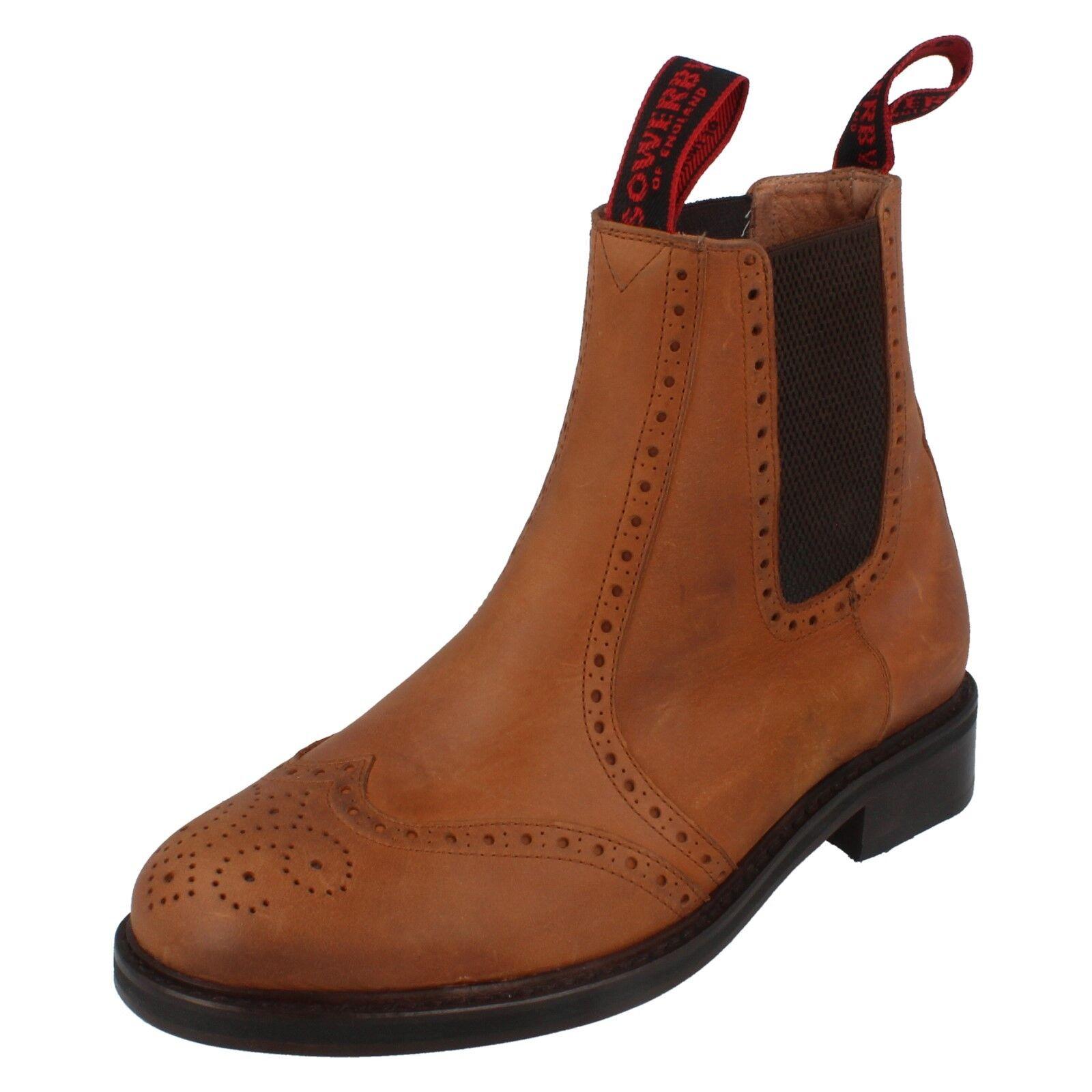 Herren Sowerby Cheltenham Braun Schmierig Schmierig Schmierig Leather Stiefeletten LS550GAU   6001e4
