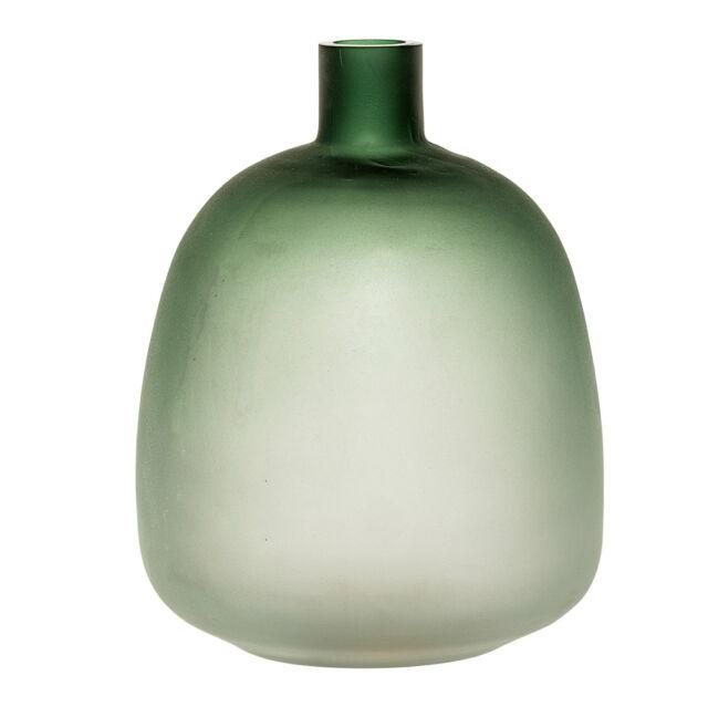 Bloomingville Vase Blumenvase Glas Grün Günstig Kaufen Ebay