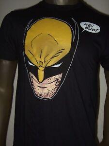 New-Men-039-s-Marvel-Comics-The-X-Men-Wolverine-Cartoon-Mad-Logan-Hey-Bub-Tee-Shirt