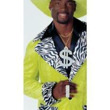 Adult Mr T Mohawk Fancy Dress Set Mens Pimp Rapper 80s 90s Costume Accessory