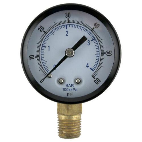 Replacement Regulator Pressure Gauge 0-60 PSI Draft Beer Kegerator Bar Parts