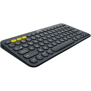 Logitech K380 Multi-Device Bluetooth Keyboard - Dark Gray | eBay