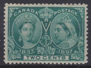 Canada-1897-52-Diamond-Jubilee-Issue-Queen-Victoria-MH-VF