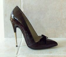 *Join The $$ Club!!!* $3100 New TOM FORD Black Crocodile Bow Shoes Sz.6 1/2 - 7