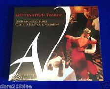 NEW Sealed Destination Tango (2014) CD Duo Sud Lucia Abonizio Gilberto Pereyra