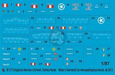 Peddinghaus-Decals 1//72 2714 Royal Marines Sherman-Cromwell und Centaur Panzer