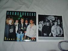 CRUMBSUCKERS Beast On My Back '88 LP ex-CARNIVORE PRO-PAIN ORIG US  1st pr MINT-