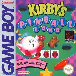 Nintendo-Gameboy-juego-Kirby-039-s-Pinball-pais-con-embalaje-original