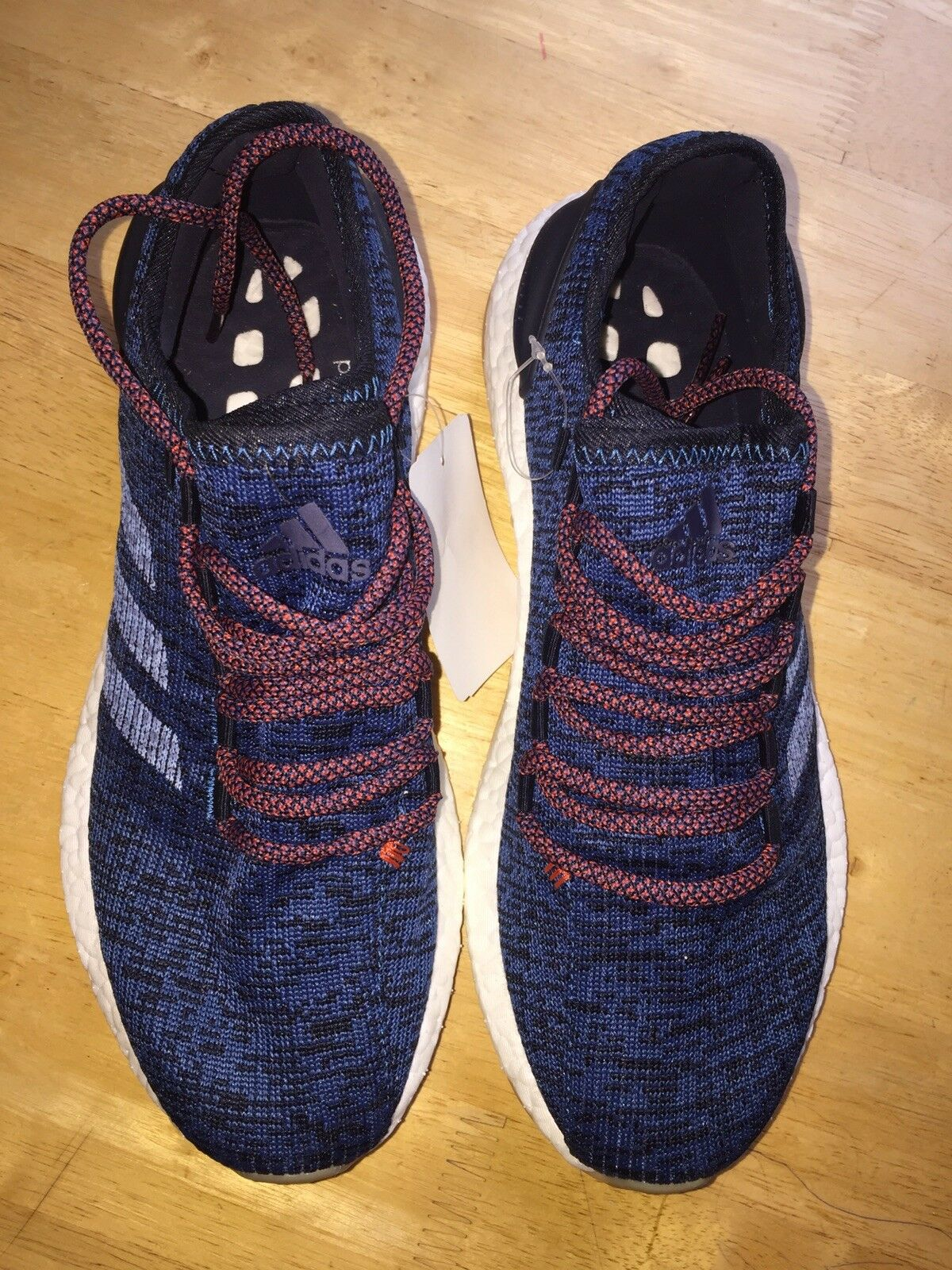 Adidas men's trainers trainers trainers enegy boost trainers color bluee orange size uk 8.5. 75afec